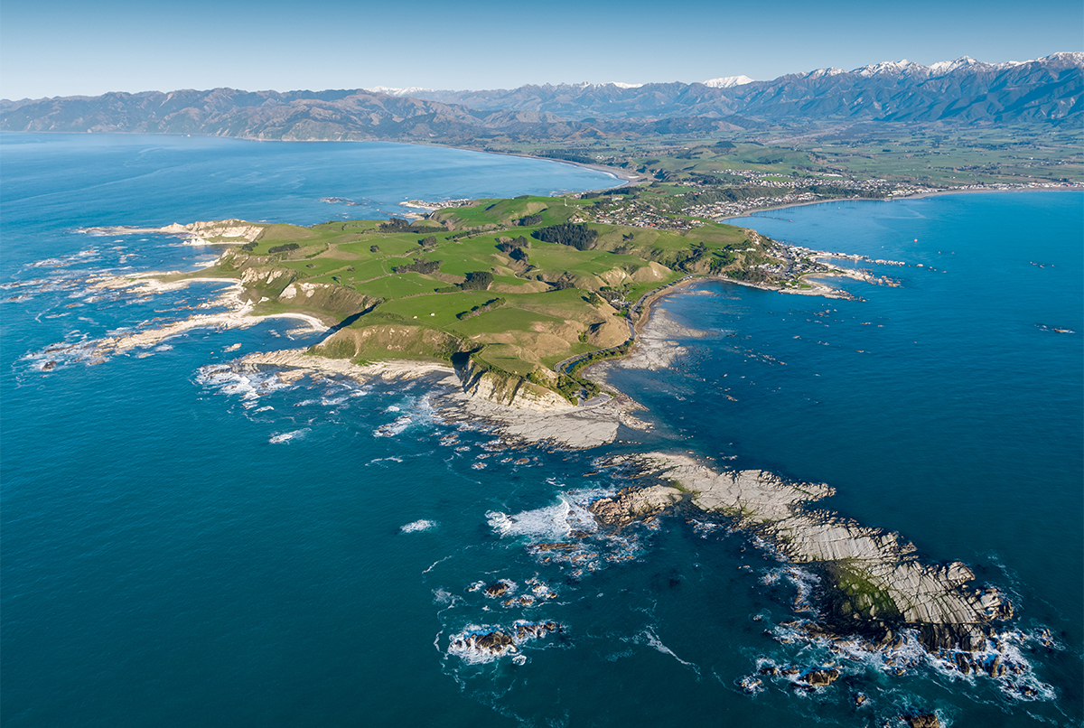 Kaikoura Peninsula Aerial Photo Drone