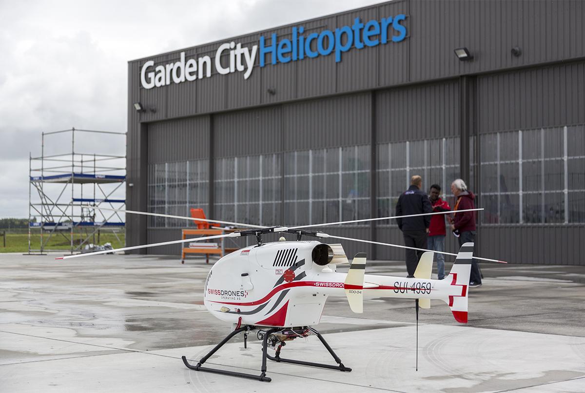 Turbine Drone SDO50 GCH UAV